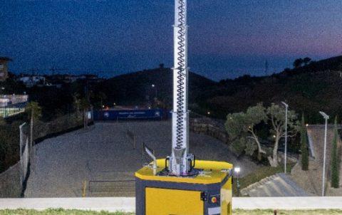 Atlas Copco B5+ light tower